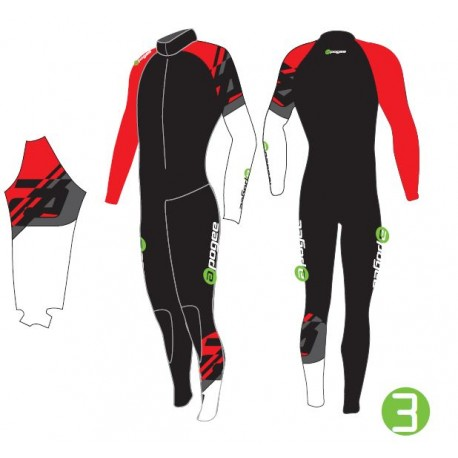 Apogee ST Lycra suit with Built in Knee/Shin