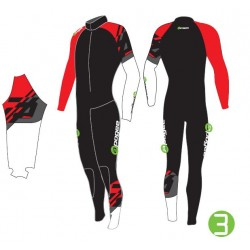 Apogee ST Lycra suit with Built in Full Dynamix w/ Knee/Shin